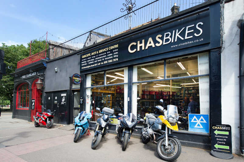 Chas Bikes - Experts in Motorcycle Repairs in Lambeth, London UK