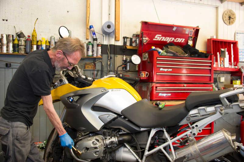 Chas Bikes - Experts in Motorcycle Repairs in Lambeth, London UK